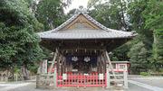 稗田野神社 参拝
