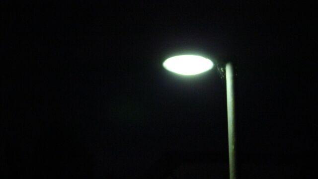 夜の電気(外灯)