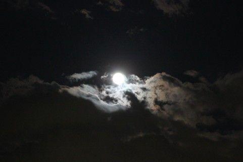 怪しい満月の夜