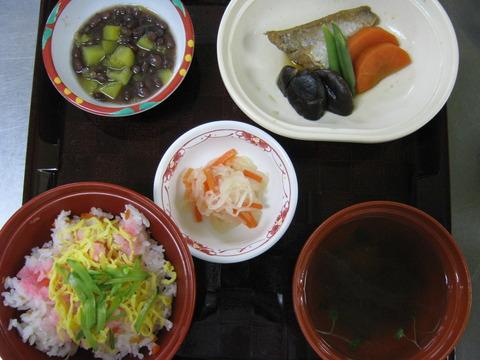 夕食(常菜)