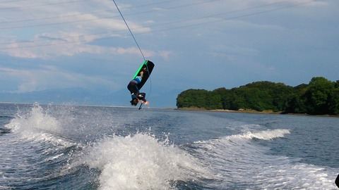 水上スキー・ウェイクボード