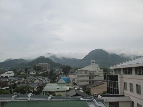 雨の金峰山