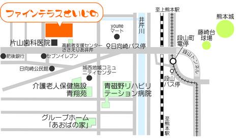 ファインテラス(あおば有)地図