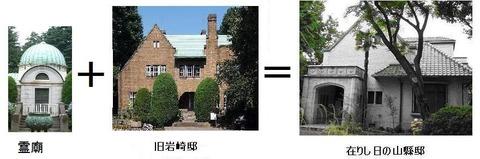 霊廟+岩崎=山縣