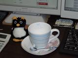 ペンギンとカップ