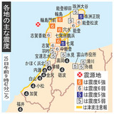石川県震度6