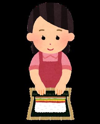 sushi_makizushi_woman