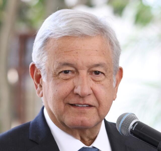 メキシコ大統領アンドレス・マヌエル・ロペス・オブラドール