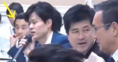 と言った立憲民主党の初鹿明博→退席