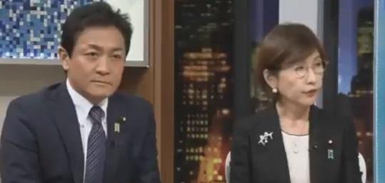 玉木 vs 稲田