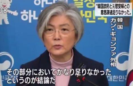 韓国・カン・ギョンファ外相