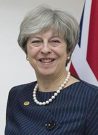 テリーザ・メイ英首相