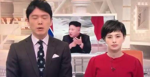 井上アナ「圧倒的な軍事力を見せつけるアメリカと韓国