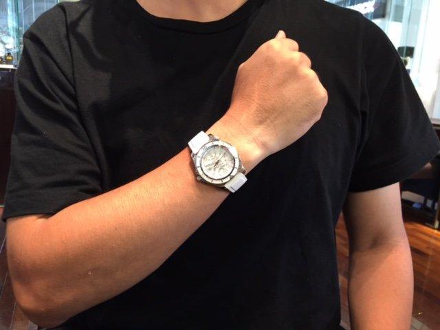 check out 2128f 128e6 ホワイトカラーが素敵ですね : 機械式時計のオーナーになった日