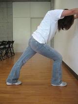 下腿三頭筋のストレッチング