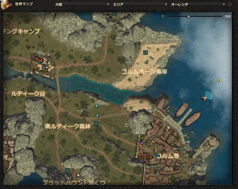 バルバロッサ(コルム港マップ)