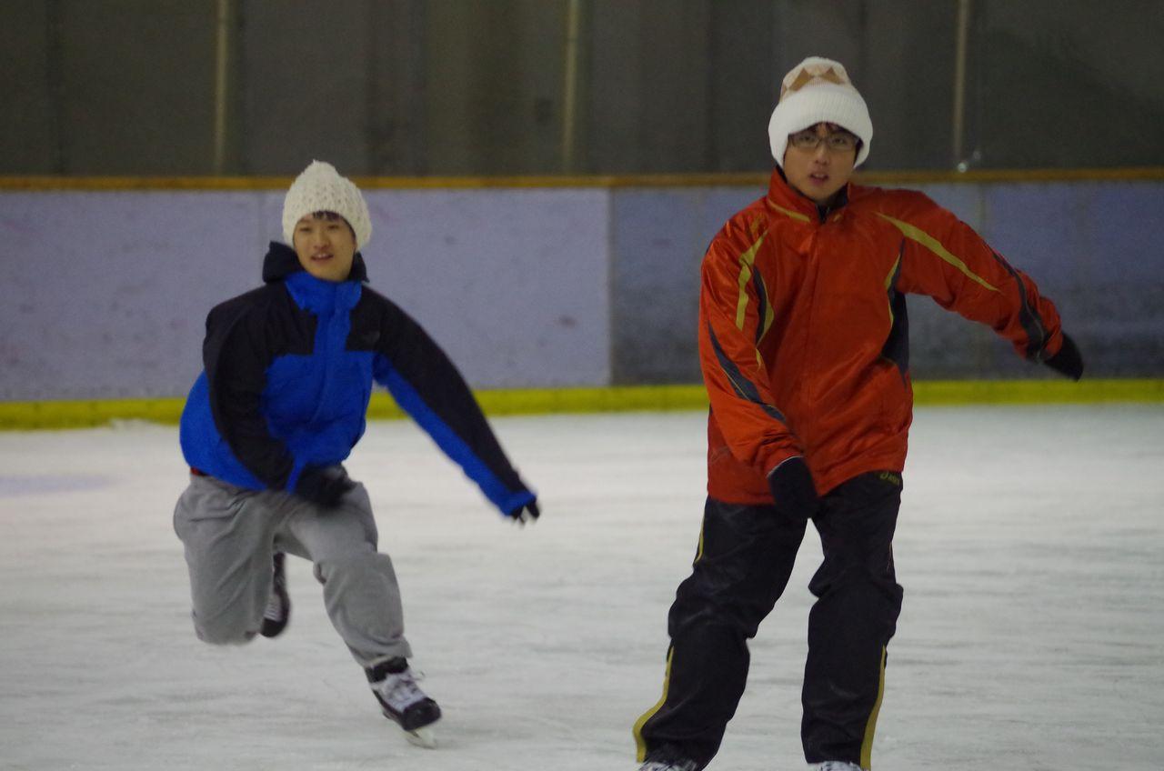 IMGP0144 そうなんです!帯広の生徒はホントにみんなスケートが上手なんです! スケート実習