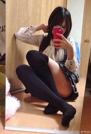 【ニーソLOVE】やっぱ美脚女子のニーソ、ニーハイはイイね!