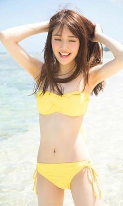 しなやか細身体のにこやか美10代小娘・松川菜々花ちゃん写真☆