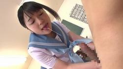 【3次美少女】ご奉仕系黒髪JKの唾液交換ねばとろ手コキがヤバイwww