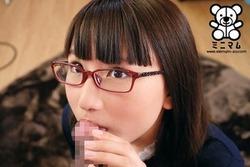 地味子系メガネなちっぱいJK美少女の身長差セクロスがエロい