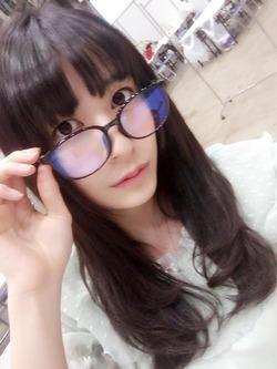 メガネの似合うしっとり系の理系顔!佐々木優佳里ちゃん画像!