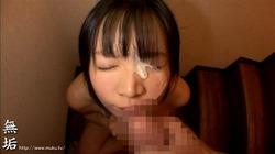 【3次美少女】黒髪JKのフェラチオ&パイズリ奉仕でザーメン大量顔射www