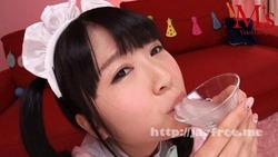 【3次美少女】この美少女が汁男優の特濃ザーメンをごっくんしまくりますwww
