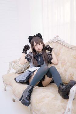 (3次美10代小娘)あんにゅい豆腐ちゃんの少女キュートなコスプレ写真☆