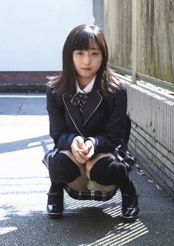 【3次美少女】永井すみれちゃんの縞パンブルセラエロスとキュート自撮り画像!