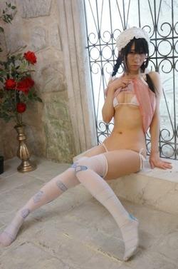 【3次美少女】ヤンデレ感↑↑なメガネ女子www「蜜ヰゆか」のエロ画像w
