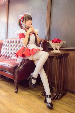 メイドさんコスした女の子の美麗画像&エロ画像www