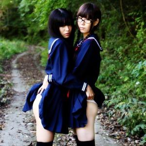 【清楚系ビッチ】制服女子のエロスを見事に切り取った絵になるJK画像!