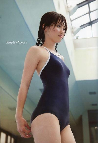 【清楚】スク水・競泳水着に包まれた少女ボディがエロいwの図