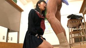 【悲愴感エロス】 気弱顔JKを性的な体罰で精神的に追い詰める陵辱セクロス!