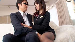 素人っぽいお嬢さんのご奉仕手コキエステが癒し効果エロス!