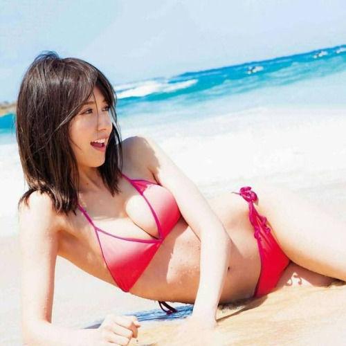 おっぱいデカい!乃木坂・衛藤美彩ちゃんの水着画像!