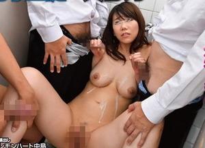【ビッチ堕ち】校内精液便所として男子生徒が行列をつくる女教師マ○コwww