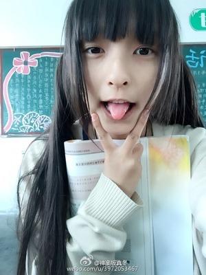 【清楚系ビッチ】黒髪ロングな美少女のエロコス&自撮りはイイね!