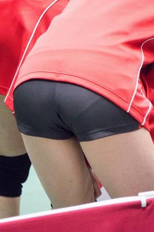 【体育会系エロス】バレーボール選手のお尻ってエロいっすよねwww