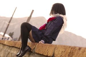 あ~これは良い雰囲気を醸し出してますねぇ。そんな制服の美少女画像!