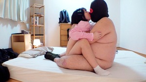 体格差がヤバいwwwキモデブに拉致られた美少女の悲壮感エロスwww