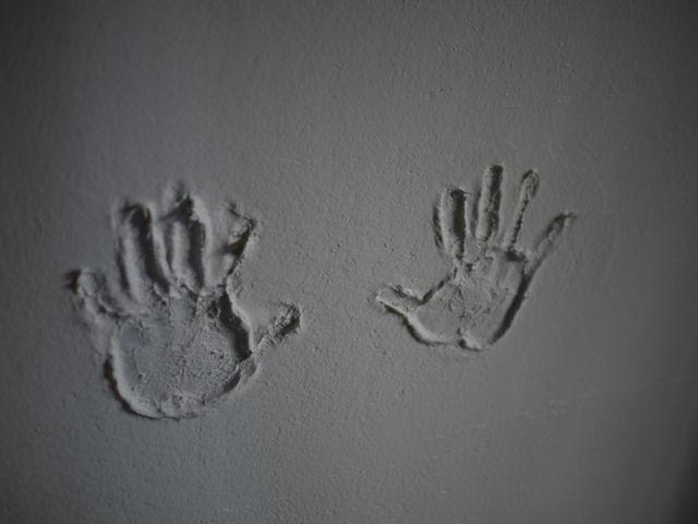 国分の家・子供室手形