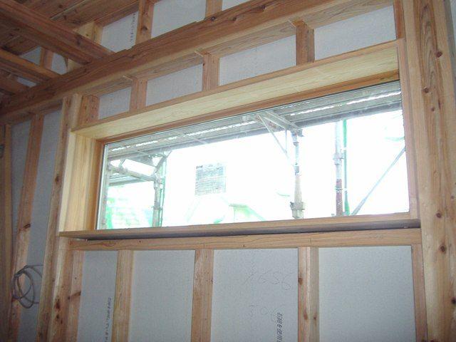 重富の家・室内の様子 窓枠