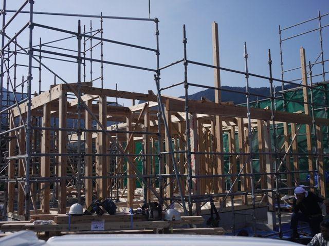 重富の家・建て方1日目