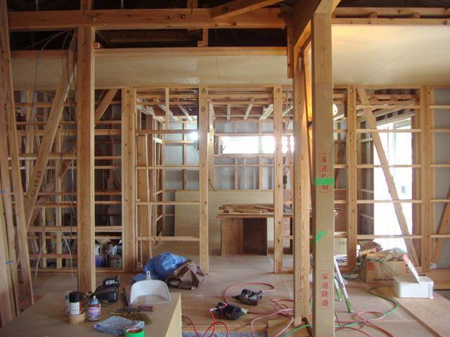 国分の家・内部の様子 寝室