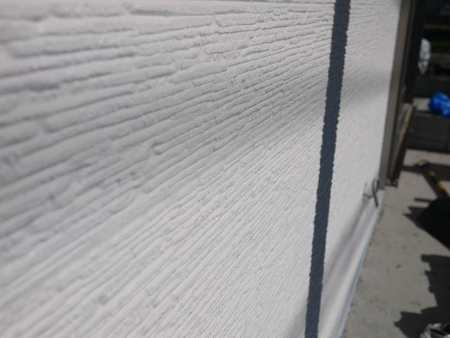 国分の家・外壁材の模様