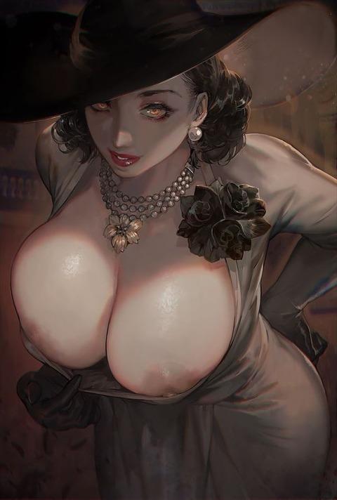 ドミトレスク夫人を視姦したくなるエロ画像 100枚【バイオハザード8(バイオハザードヴィレッジ)】