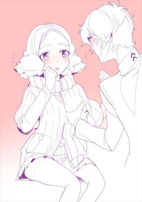 奥村春 おくむらはる エロ画像 ペルソナ5 persona5 p5(3)