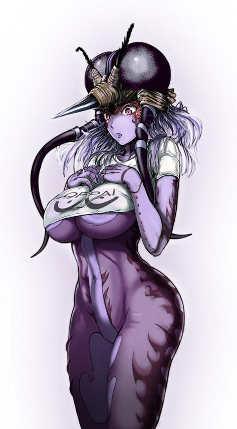 モスキート娘 エロ画像 蚊娘 ワンパンマン (8)